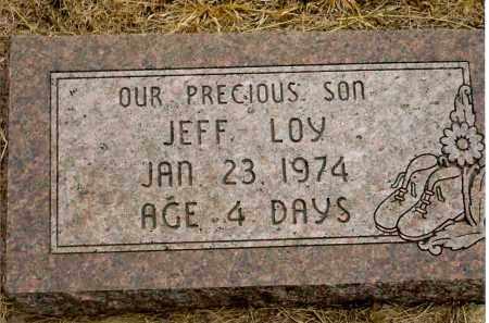 BILLINGS, JEFF LOY - Keya Paha County, Nebraska | JEFF LOY BILLINGS - Nebraska Gravestone Photos