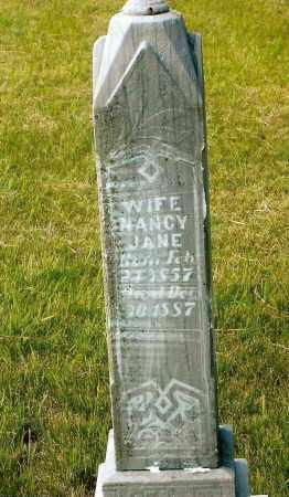 SMALLEY BILLINGS, NANCY JANE - Keya Paha County, Nebraska | NANCY JANE SMALLEY BILLINGS - Nebraska Gravestone Photos
