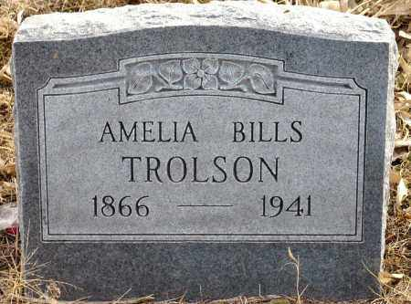 BILLS (TROLSON), AMELIA - Keya Paha County, Nebraska | AMELIA BILLS (TROLSON) - Nebraska Gravestone Photos