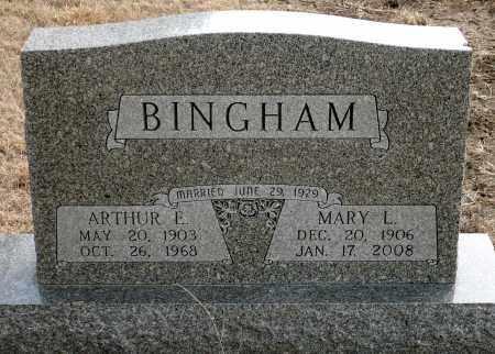 EVANS BINGHAM, MARY L. - Keya Paha County, Nebraska | MARY L. EVANS BINGHAM - Nebraska Gravestone Photos