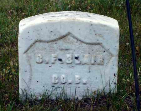 BLAIR, G. F. - Keya Paha County, Nebraska   G. F. BLAIR - Nebraska Gravestone Photos