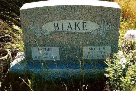 BLAKE, EARL - Keya Paha County, Nebraska   EARL BLAKE - Nebraska Gravestone Photos