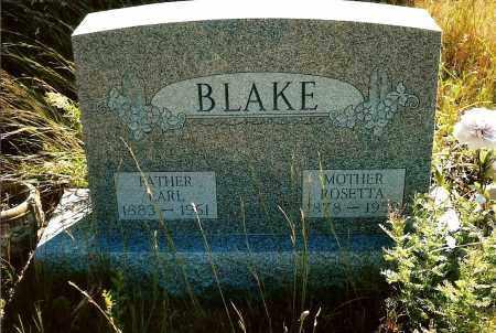 BLAKE, EARL - Keya Paha County, Nebraska | EARL BLAKE - Nebraska Gravestone Photos