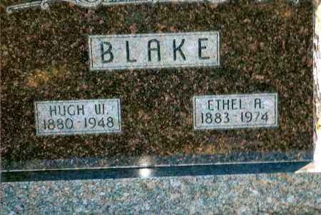 BLAKE, HUGH W. - Keya Paha County, Nebraska | HUGH W. BLAKE - Nebraska Gravestone Photos