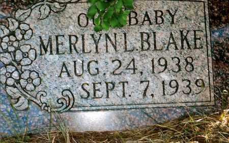 BLAKE, MERLYN L. - Keya Paha County, Nebraska | MERLYN L. BLAKE - Nebraska Gravestone Photos