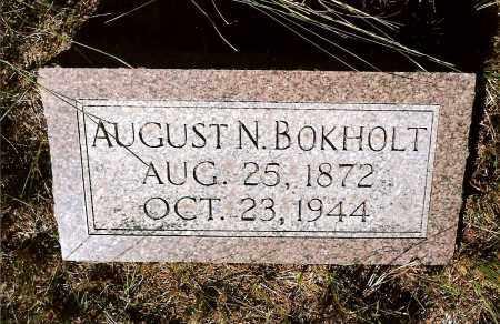 BOKHOLT, AUGUST N. - Keya Paha County, Nebraska | AUGUST N. BOKHOLT - Nebraska Gravestone Photos