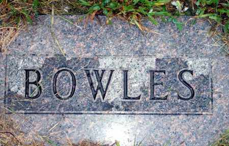BOWLES, FAMILY - Keya Paha County, Nebraska | FAMILY BOWLES - Nebraska Gravestone Photos