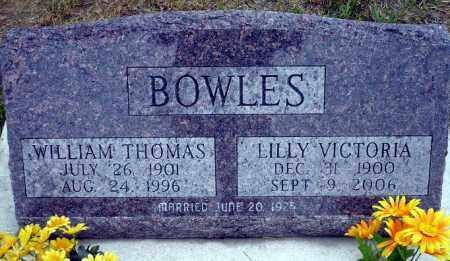 BOWLES, WILLIAM THOMAS - Keya Paha County, Nebraska   WILLIAM THOMAS BOWLES - Nebraska Gravestone Photos