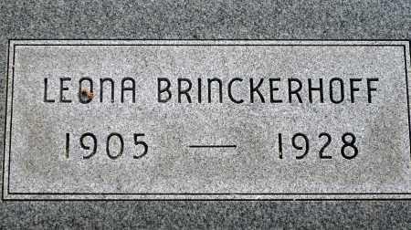 BRINCKERHOFF, LEONA - Keya Paha County, Nebraska | LEONA BRINCKERHOFF - Nebraska Gravestone Photos