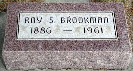 BROOKMAN, ROY S. - Keya Paha County, Nebraska | ROY S. BROOKMAN - Nebraska Gravestone Photos