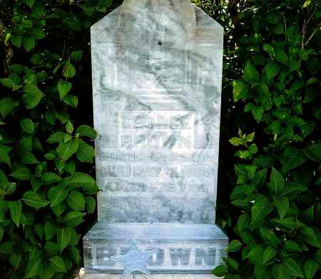 BROWN, GEORGE - Keya Paha County, Nebraska | GEORGE BROWN - Nebraska Gravestone Photos