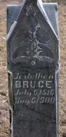 BRUCE, JEDUTHER - Keya Paha County, Nebraska | JEDUTHER BRUCE - Nebraska Gravestone Photos