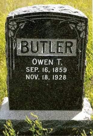 BUTLER, OWEN T. - Keya Paha County, Nebraska | OWEN T. BUTLER - Nebraska Gravestone Photos