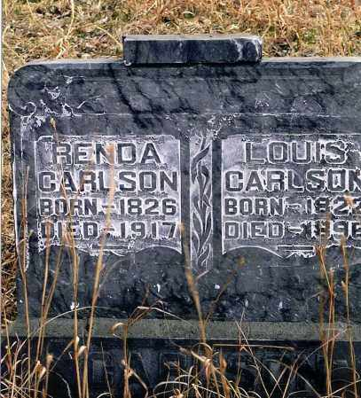 CARLSON, RENDA - Keya Paha County, Nebraska | RENDA CARLSON - Nebraska Gravestone Photos