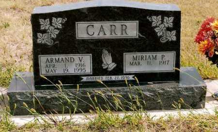CARR, ARMAND V. - Keya Paha County, Nebraska | ARMAND V. CARR - Nebraska Gravestone Photos