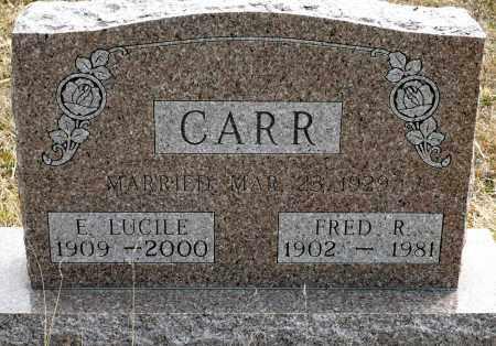 BOSHART CARR, E. LUCILE - Keya Paha County, Nebraska | E. LUCILE BOSHART CARR - Nebraska Gravestone Photos