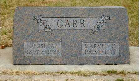 CARR, JESSE A. - Keya Paha County, Nebraska | JESSE A. CARR - Nebraska Gravestone Photos