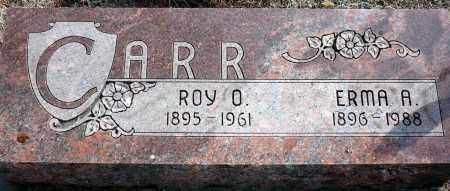 CARR, ERMA A. - Keya Paha County, Nebraska | ERMA A. CARR - Nebraska Gravestone Photos