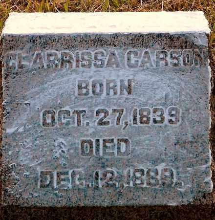 CARSON, CLARRISSA - Keya Paha County, Nebraska | CLARRISSA CARSON - Nebraska Gravestone Photos