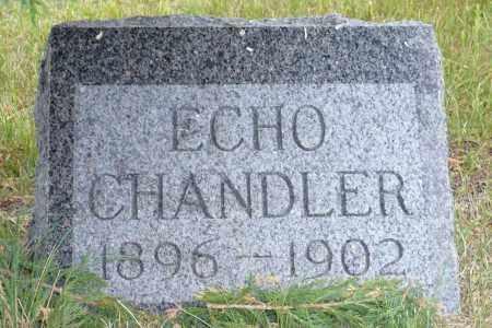 CHANDLER, ECHO - Keya Paha County, Nebraska | ECHO CHANDLER - Nebraska Gravestone Photos