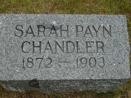 PAYN CHANDLER, SARAH - Keya Paha County, Nebraska | SARAH PAYN CHANDLER - Nebraska Gravestone Photos