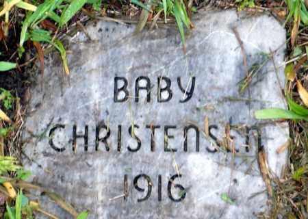 CHRISTENSEN, BABY - Keya Paha County, Nebraska | BABY CHRISTENSEN - Nebraska Gravestone Photos