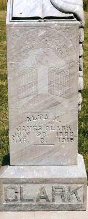 CLARK, ALTA M. - Keya Paha County, Nebraska | ALTA M. CLARK - Nebraska Gravestone Photos
