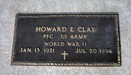 CLAY, HOWARD E. - Keya Paha County, Nebraska | HOWARD E. CLAY - Nebraska Gravestone Photos