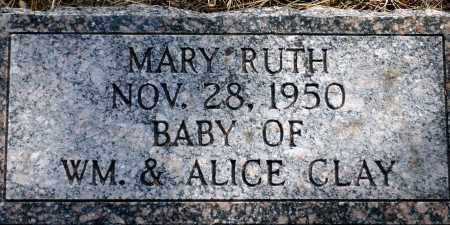 CLAY, MARY RUTH - Keya Paha County, Nebraska | MARY RUTH CLAY - Nebraska Gravestone Photos