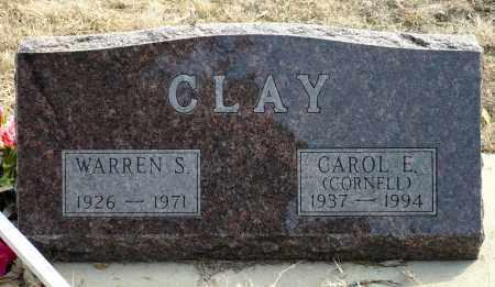 CLAY, WARREN S. - Keya Paha County, Nebraska | WARREN S. CLAY - Nebraska Gravestone Photos