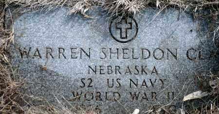 CLAY, WARREN SHELDON - Keya Paha County, Nebraska | WARREN SHELDON CLAY - Nebraska Gravestone Photos
