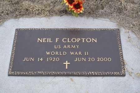 CLOPTON, NEIL F. - Keya Paha County, Nebraska   NEIL F. CLOPTON - Nebraska Gravestone Photos
