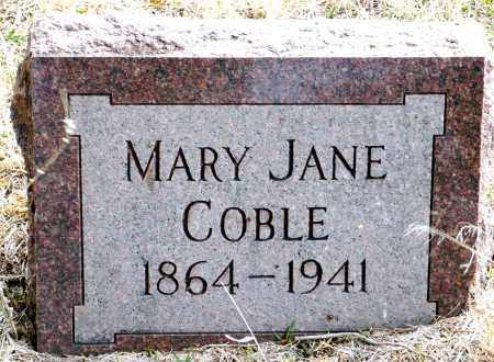 PALMER COBLE (HASSED), MARY JANE - Keya Paha County, Nebraska | MARY JANE PALMER COBLE (HASSED) - Nebraska Gravestone Photos