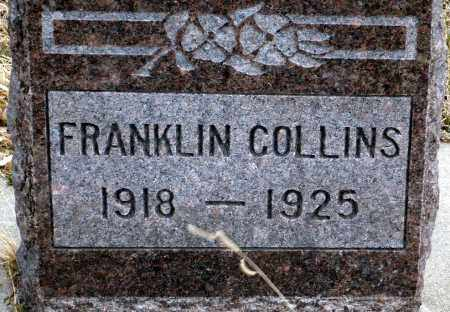 COLLINS, FRANKLIN - Keya Paha County, Nebraska | FRANKLIN COLLINS - Nebraska Gravestone Photos