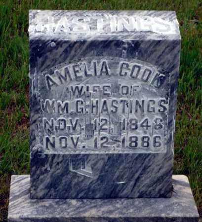 COOK, AMELIA - Keya Paha County, Nebraska | AMELIA COOK - Nebraska Gravestone Photos