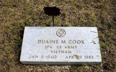 COOK, DUAINE M. - Keya Paha County, Nebraska | DUAINE M. COOK - Nebraska Gravestone Photos