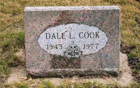 COOK, DALE L. - Keya Paha County, Nebraska | DALE L. COOK - Nebraska Gravestone Photos
