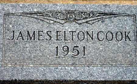 COOK, JAMES ELTON - Keya Paha County, Nebraska | JAMES ELTON COOK - Nebraska Gravestone Photos