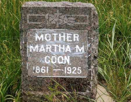COON, MARTHA M. - Keya Paha County, Nebraska | MARTHA M. COON - Nebraska Gravestone Photos
