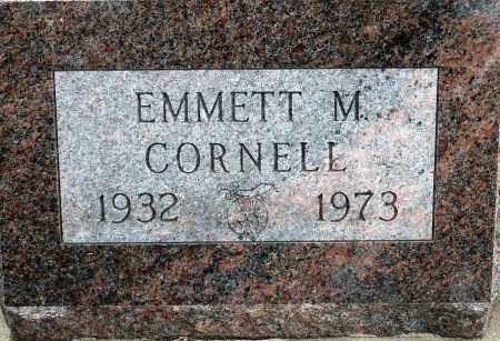 CORNELL, EMMETT M. - Keya Paha County, Nebraska | EMMETT M. CORNELL - Nebraska Gravestone Photos