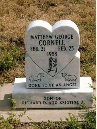 CORNELL, MATTHEW GEORGE - Keya Paha County, Nebraska   MATTHEW GEORGE CORNELL - Nebraska Gravestone Photos