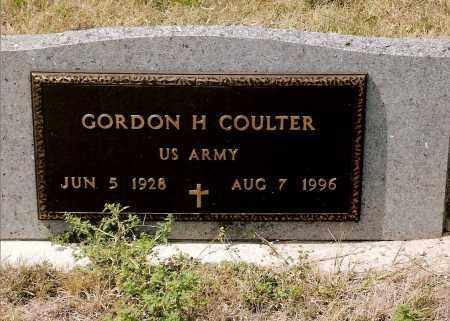 COULTER, GORDON H. - Keya Paha County, Nebraska   GORDON H. COULTER - Nebraska Gravestone Photos