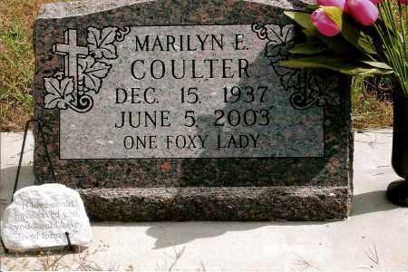 FOX COULTER, MARILYN E. - Keya Paha County, Nebraska   MARILYN E. FOX COULTER - Nebraska Gravestone Photos