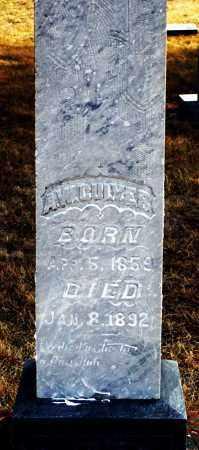 CULVER, A. W. - Keya Paha County, Nebraska | A. W. CULVER - Nebraska Gravestone Photos