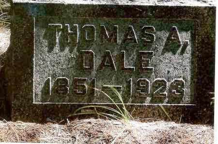 DALE, THOMAS A. - Keya Paha County, Nebraska | THOMAS A. DALE - Nebraska Gravestone Photos