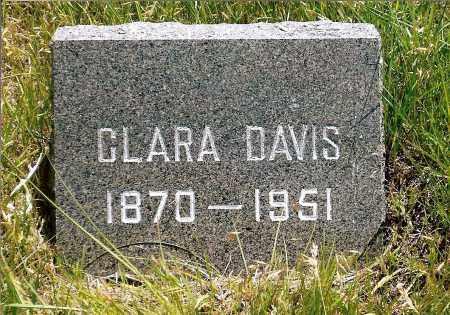 DAVIS, CLARA - Keya Paha County, Nebraska   CLARA DAVIS - Nebraska Gravestone Photos