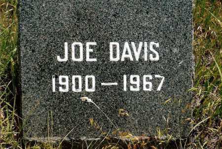 DAVIS, JOE - Keya Paha County, Nebraska   JOE DAVIS - Nebraska Gravestone Photos