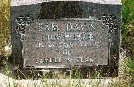DAVIS, SAM - Keya Paha County, Nebraska   SAM DAVIS - Nebraska Gravestone Photos