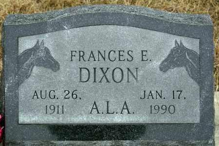DIXON, FRANCES E. WORTH - Keya Paha County, Nebraska | FRANCES E. WORTH DIXON - Nebraska Gravestone Photos