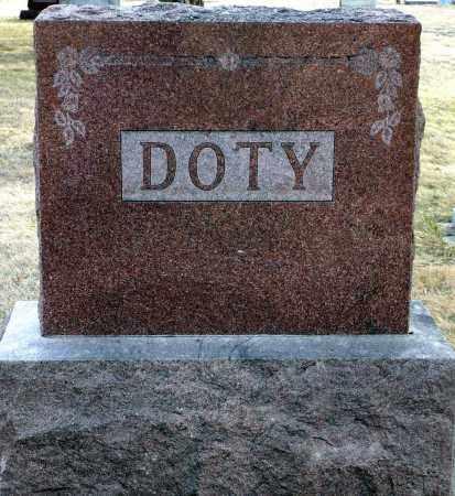 DOTY, FAMILY - Keya Paha County, Nebraska   FAMILY DOTY - Nebraska Gravestone Photos